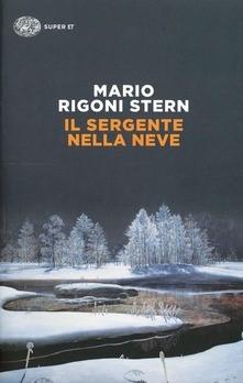 Italian book. Il sergente della neve.