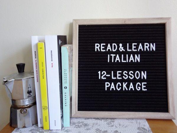 Twelve-lesson package