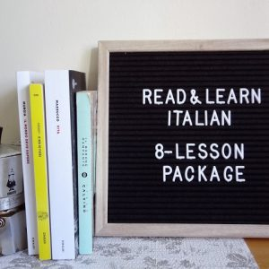 Eight-lesson package