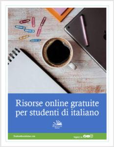 Risorse italiane per studenti di italiano