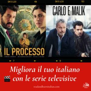 Migliora il tuo italiano con le serie TV